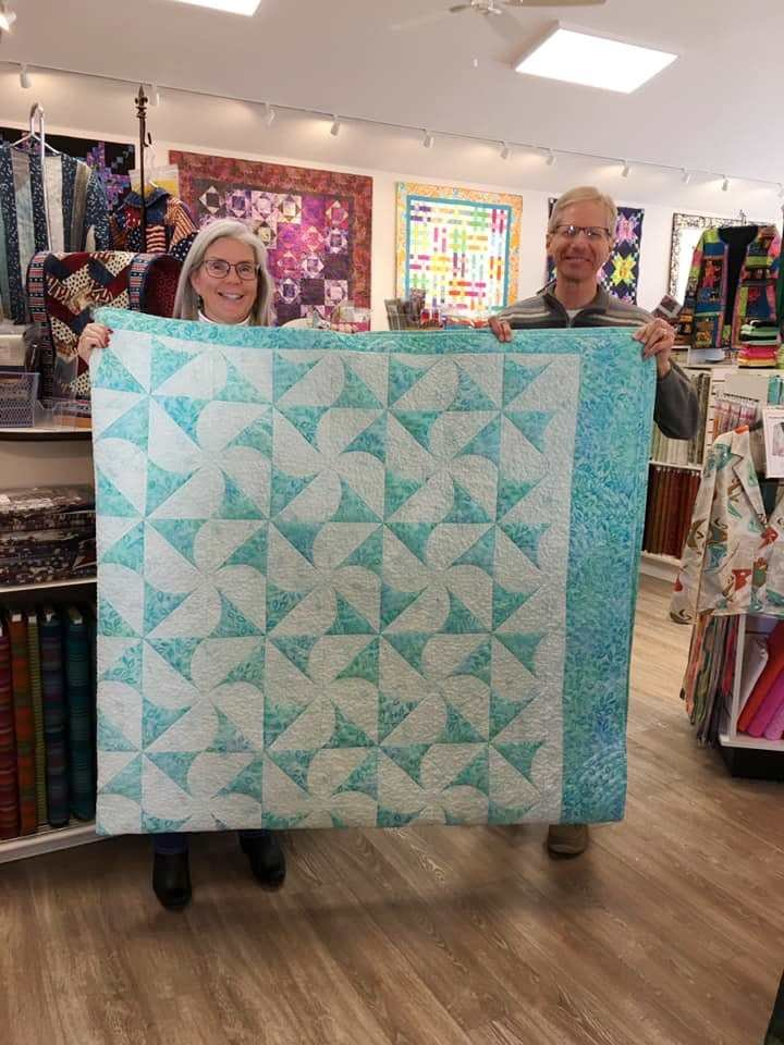 Our quilt - at Renee's.jpg