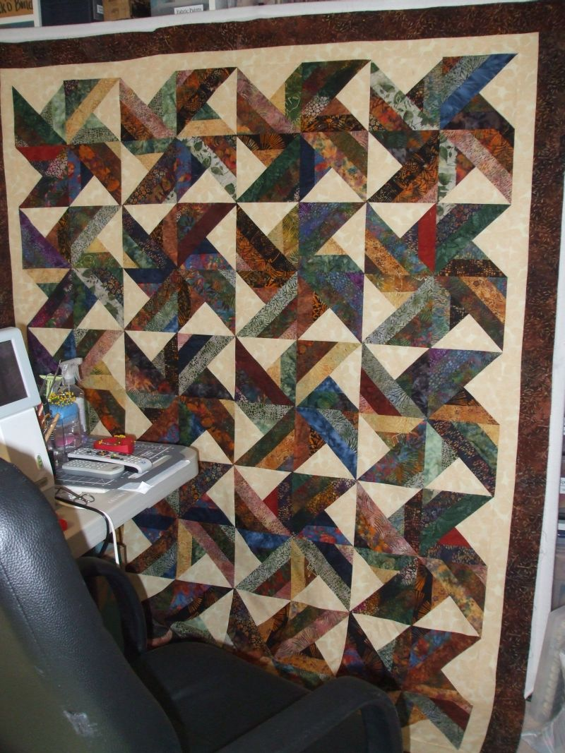 Trade Winds in batiks finished - Quilt Pictures, Patterns ... : tradewinds quilt pattern free - Adamdwight.com