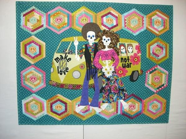 Most recent Dia de los Muertos quilt - Quilt Pictures, Patterns ... : day of the dead quilt pattern - Adamdwight.com