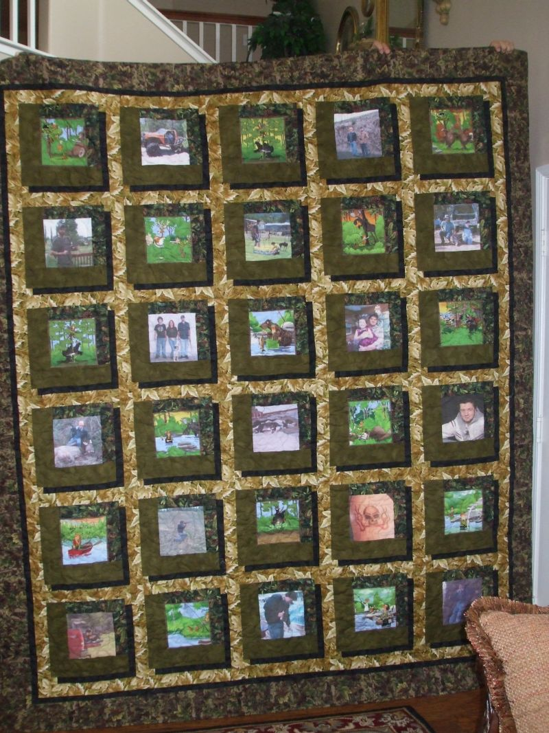 Camo quilt - Quilt Pictures, Patterns & Inspiration... - APQS Forums : camouflage quilt - Adamdwight.com