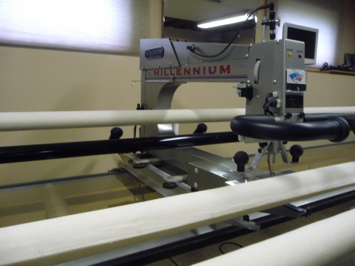 For Sale: APQS Millennium with 14' Table - For Sale - Used ... : quilting machines for sale - Adamdwight.com