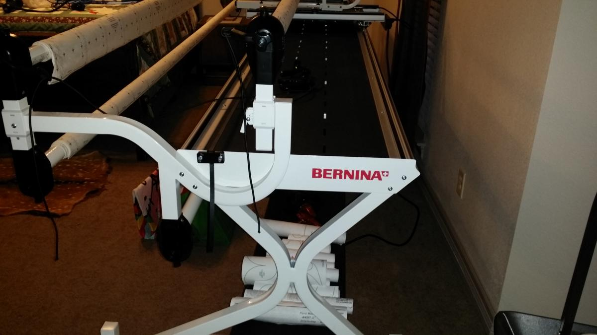 For Sale: Bernina 5/10 Foot Frame with Quilt Motion Touch - APQS ... : bernina quilting frame - Adamdwight.com