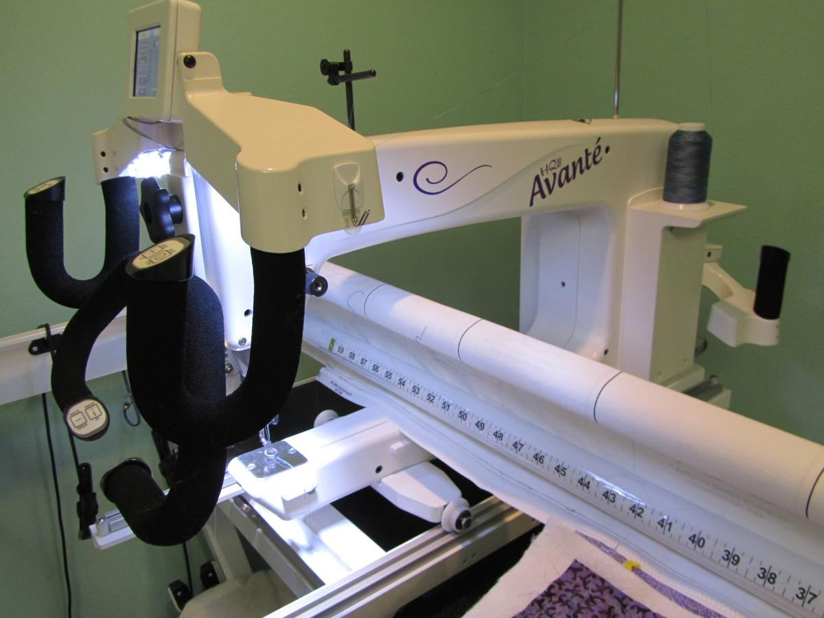 HQ 18 Avante - For Sale - Used Quilting Machines - APQS Forums : hq18 avante quilting machine - Adamdwight.com
