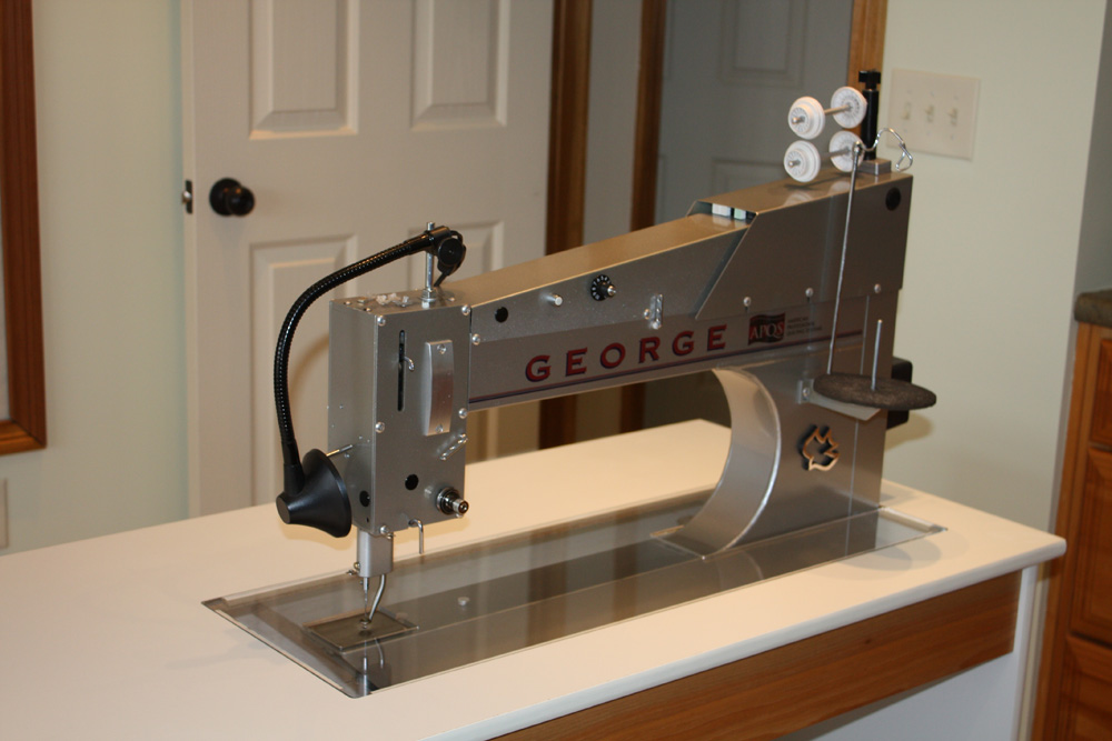 For Sale 2008 George - For Sale - Used Quilting Machines - APQS Forums : george quilting machine - Adamdwight.com