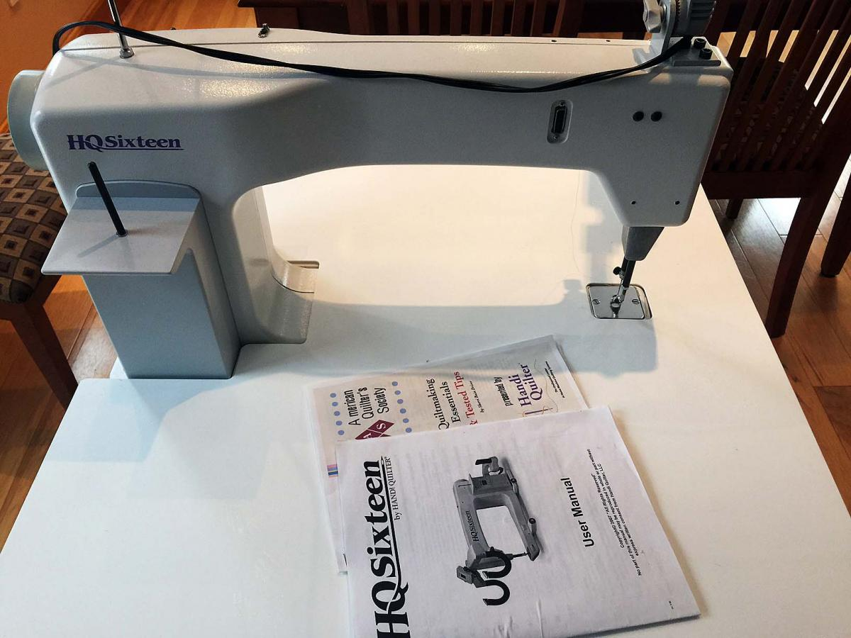 HQ Sweet Sixteen sit downforsale - For Sale - Used Quilting ... : hq sixteen quilting machine - Adamdwight.com