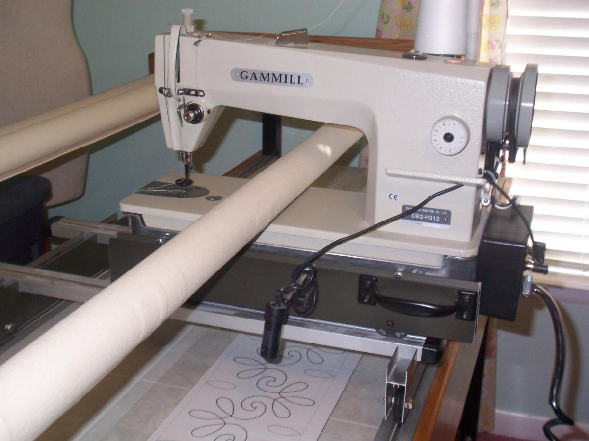 sixteenlogo sit for long down sixteen quilting machine handi arm sale machines used quilt sweet hq quilter