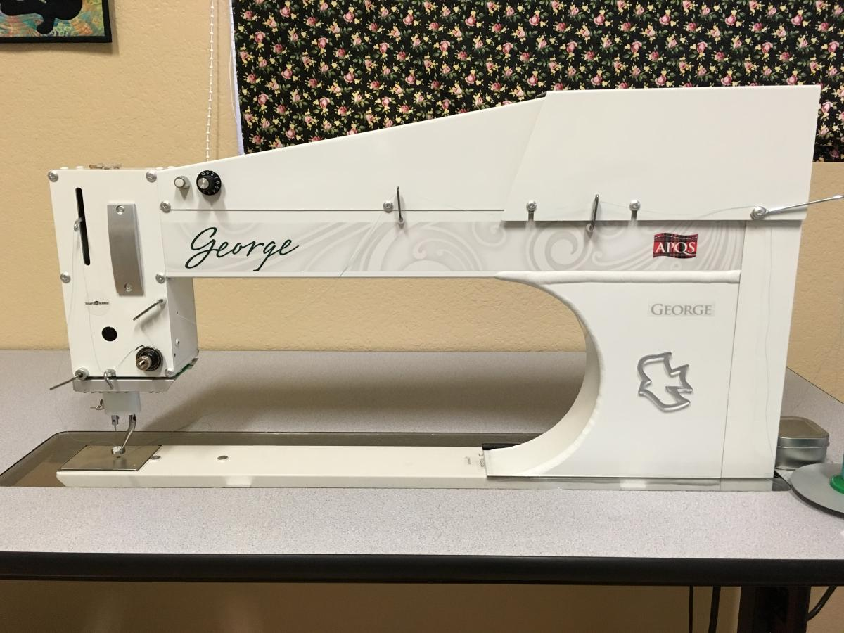2015 George Sit-down Quilting Machine - For Sale - Used Quilting ... : george quilting machine - Adamdwight.com