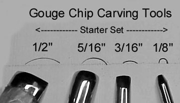 What is gouge chip carving? tools & technical the carving path