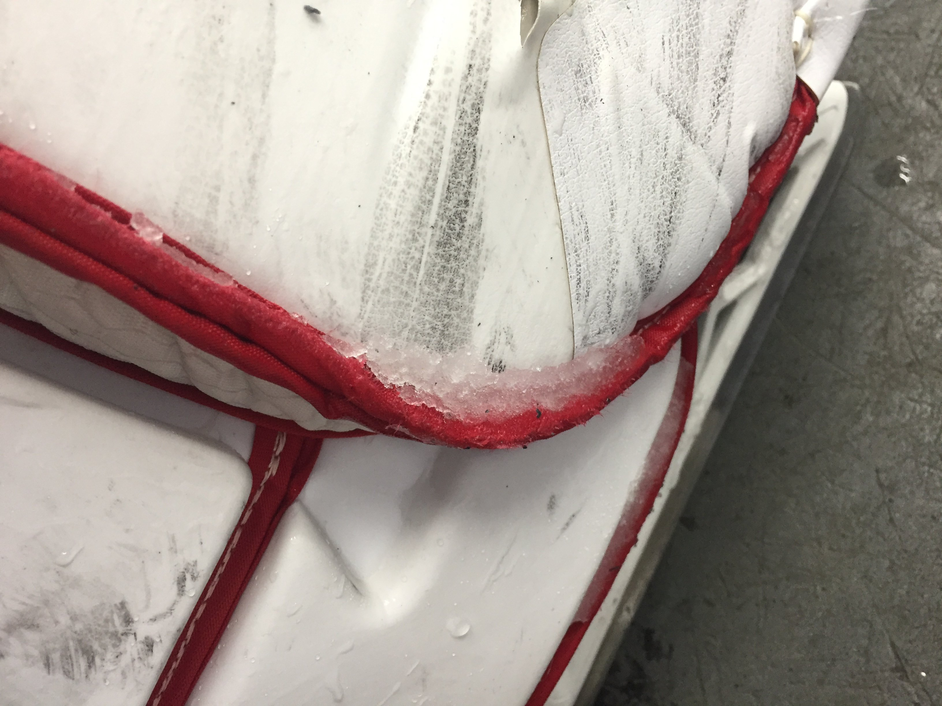 Bauer 1S Goalie Pads - Staff Reviews - THE GOAL[ie] NET[work]