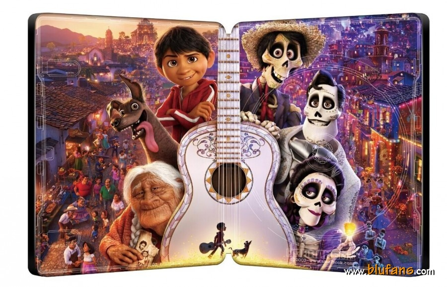 Coco - Blufans BE Steelbook - Media Psychos