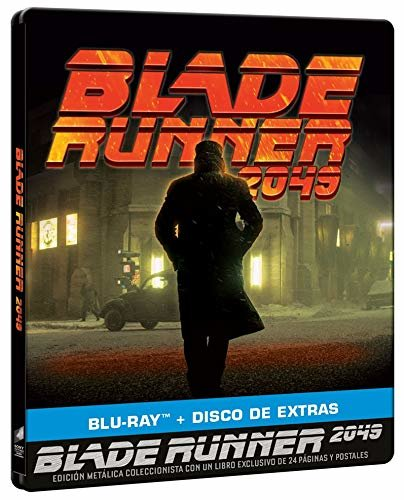 Blade Runner 2049 Blu Ray Steelbook Spain Amazon Media Psychos