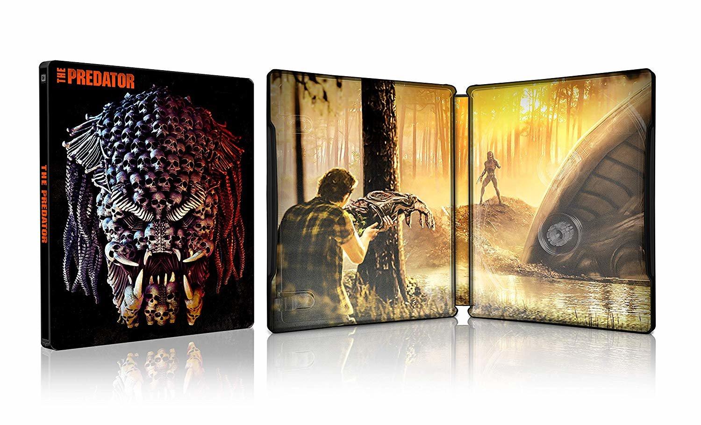 AMAZON] The Predator (2018) (4K UHD/2D Blu-ray Steelbook) [Japan] - AMAZON  - Media Psychos
