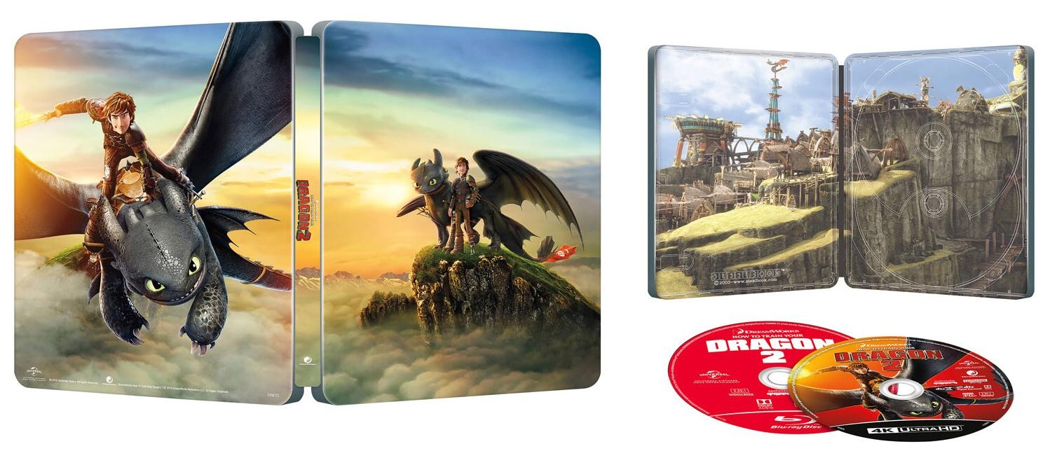 Best Buy How To Train Your Dragon 2 4k Uhd 2d Blu Ray Steelbook Only Best Buy Usa Best Buy Media Psychos