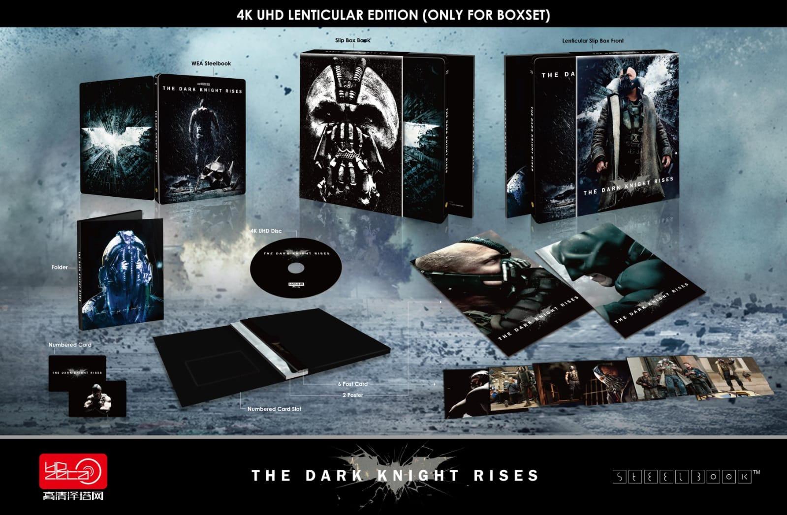 Get Dark Knight 4K Steelbook Wallpapers
