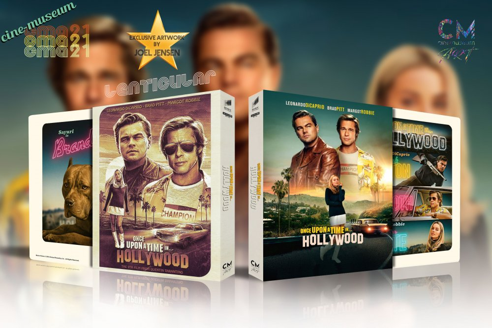 Once Upon a time in Hollywood - Lenticular (+ Steelbook + Artist).jpg