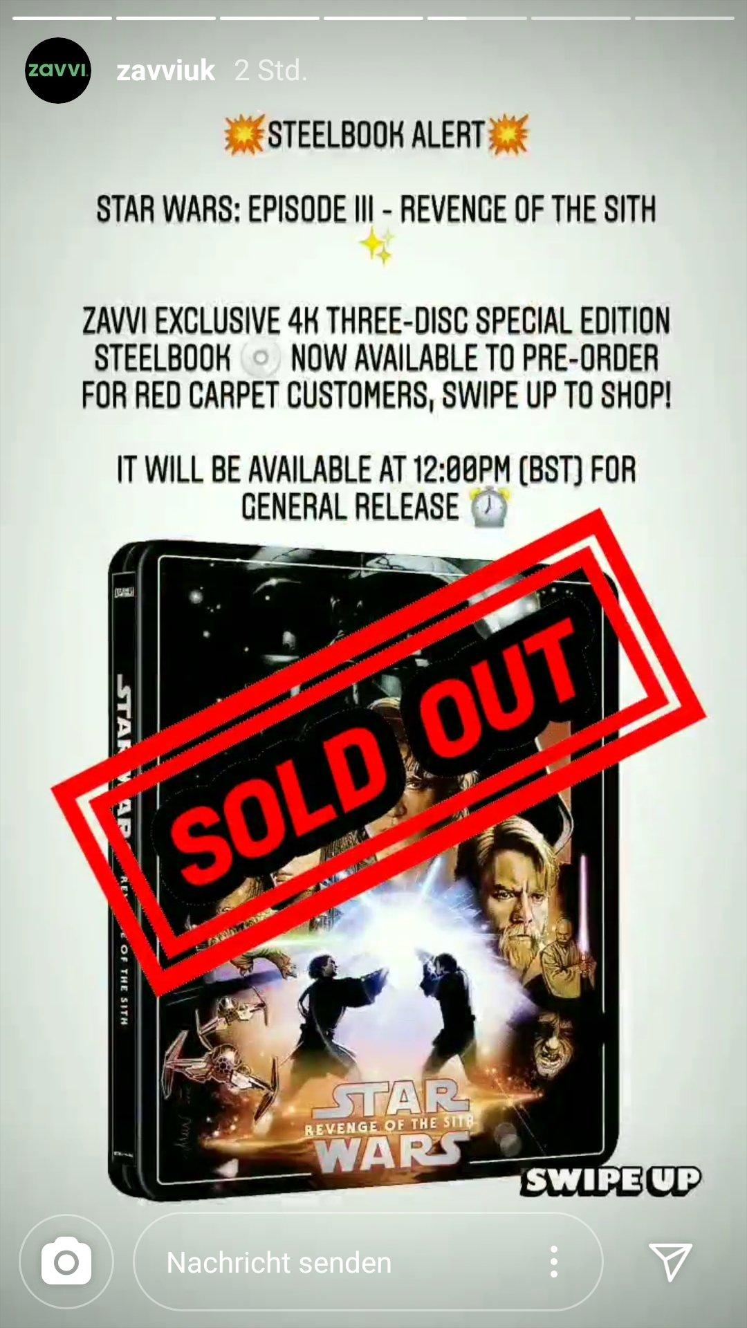 Zavvi Star Wars Episode Iii Revenge Of The Sith 4k Uhd 2d Blu Ray Steelbook Zavvi Exclusive Uk Zavvi Media Psychos