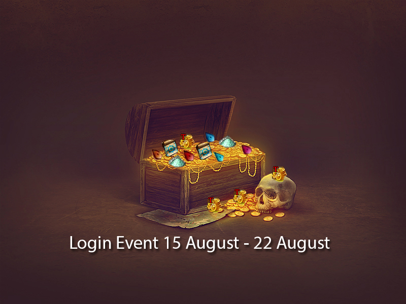 Login Event! 15-22th august
