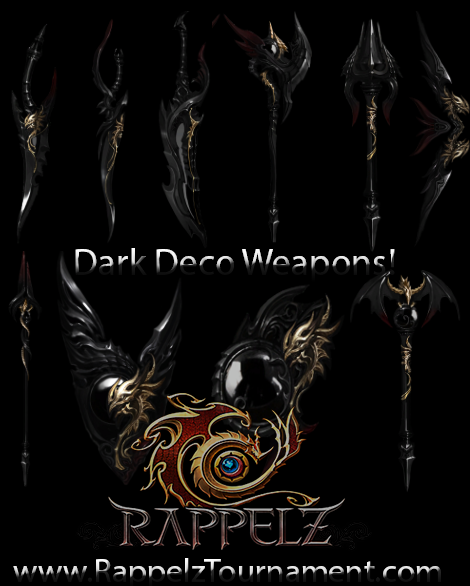 Patch Notes 2.5 (Dark Deco Weapons)