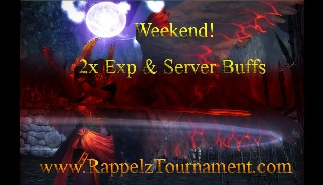 Weekend Event 2x Exp & Server Buffs!