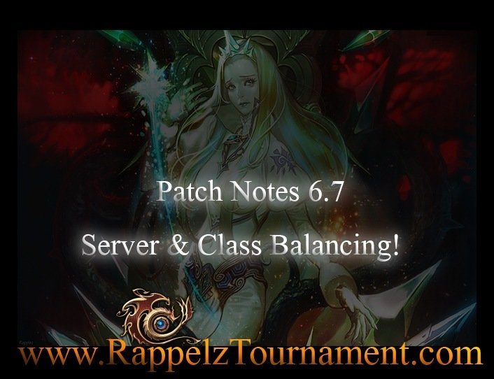 Patch Notes 6.7 (Server & Class Balancing Part 1)