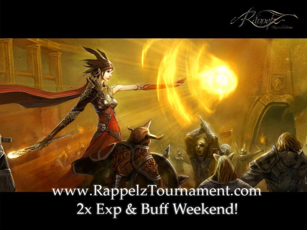 2x Exp & Buff Weekend!