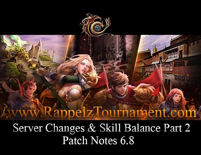 Patch Notes 6.8 (Server & Class Balancing Part 2)