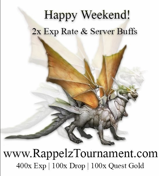 2x Exp Rate & Server Buffs Weekend!