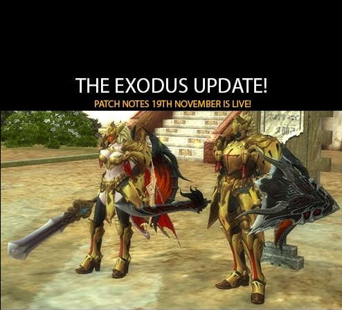 Patch Notes November 19th
