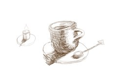 Cup and Candle