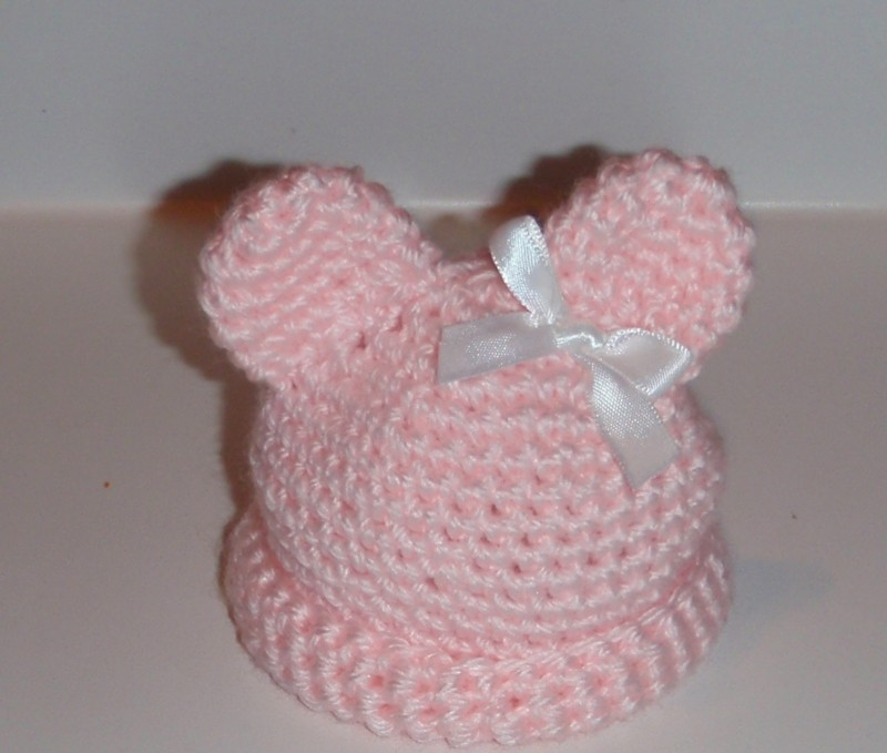 Micro Preemie Teddy Bear Hat With Pattern Baby Toddler Items