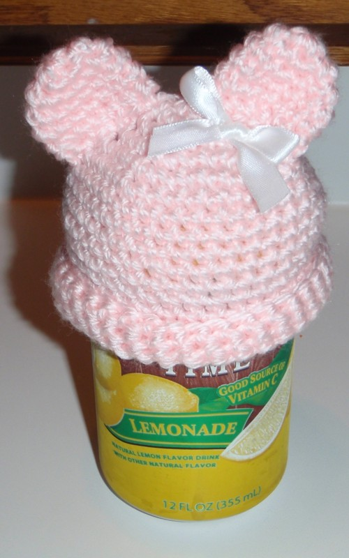 Micro preemie teddy bear hat. With Pattern! - Baby & Toddler Items ...
