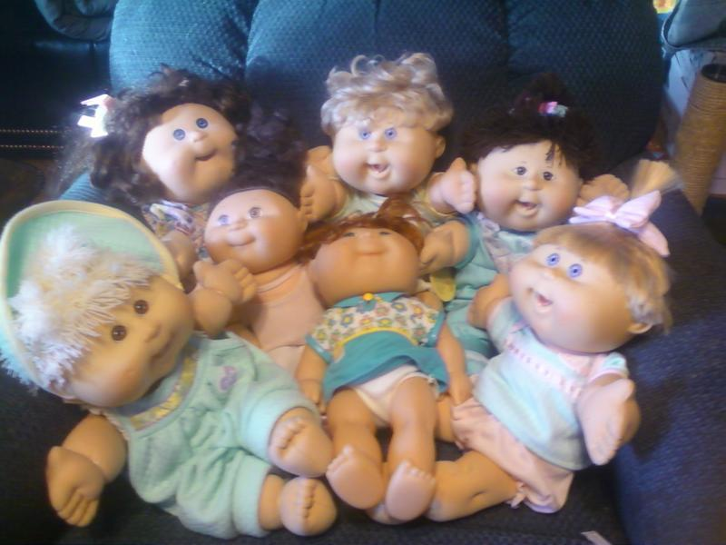 looking for cabbage patch kids clothing patterns - Seeking Patterns ...