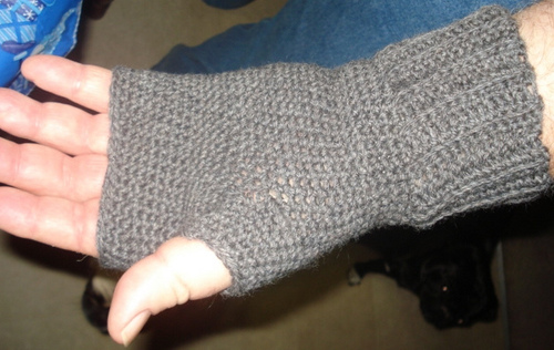 Mens Fingerless Gloves Free Pattern Links Crochetville