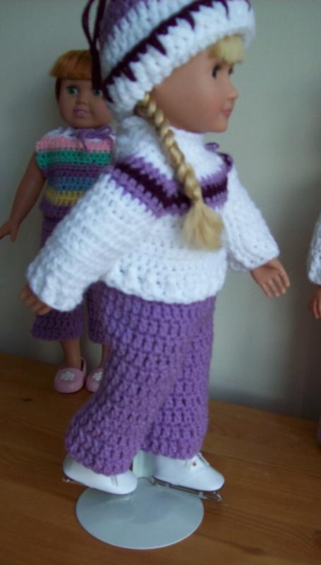 Free Crochet Doll Clothing Patterns T Shirt Design 2018