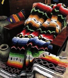 Navajo Afghan Pattern Seeking Patterns Crochetville