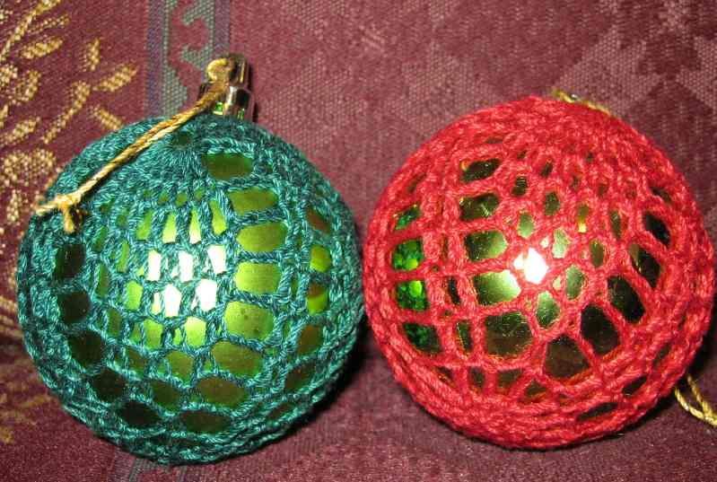 Pineapple Ornament Cover post-11825-135897625208_thumb.jpg - Pineapple Ornament Cover - Free Original Patterns - Crochetville