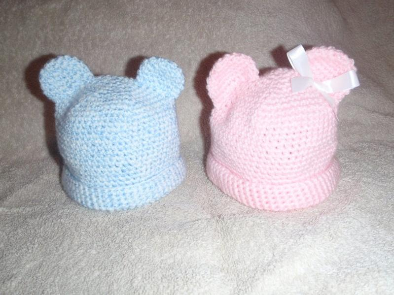 cbe52267c05 Teddy bear baby hats! corrections made - Free Original Patterns ...
