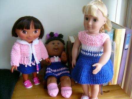 Celebrating Girldom Dolls Free Original Patterns Crochetville