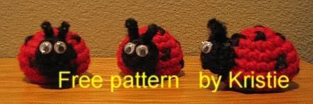 Amigurumi Ladybug:Dotty Free Download Pattern | Háčkované hračky ... | 150x450