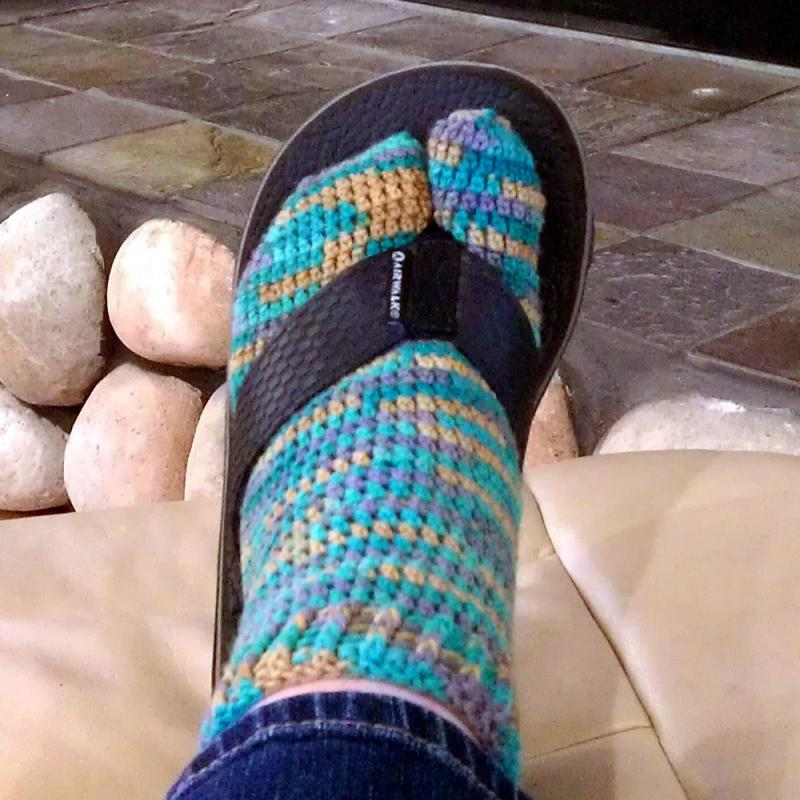 0a8ed25d973d Split-toe Tabi Socks - Patterns for Sale Links - Crochetville