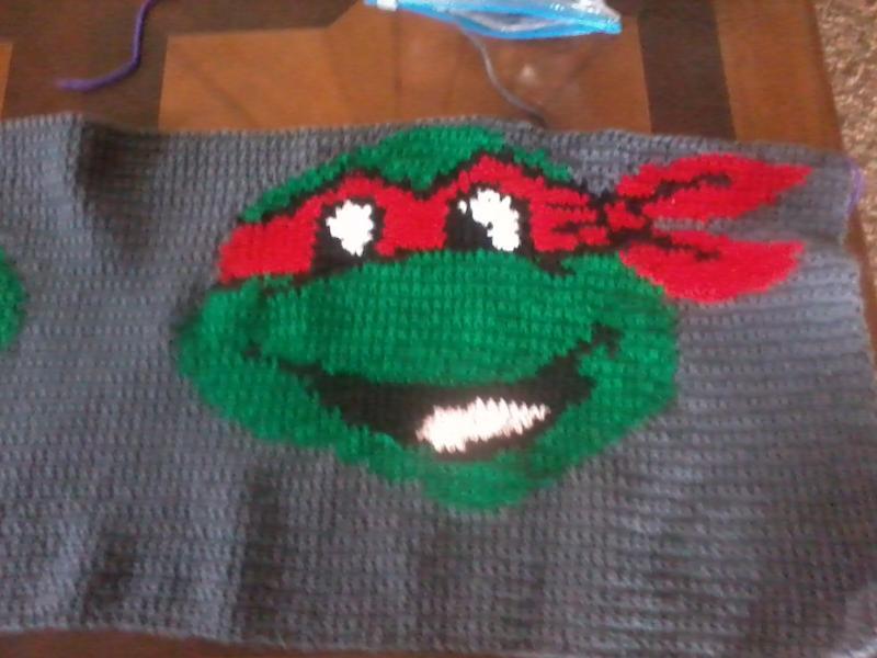 Teenage Mutant Ninja Turtle Afghan Childrens Items Crochetville