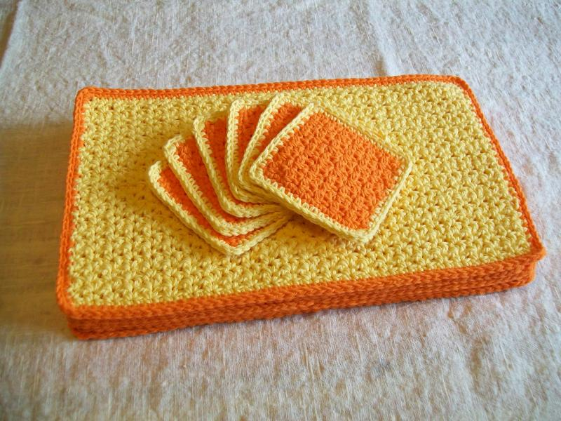 75 Crochet Placemat Patterns The Funky Stitch
