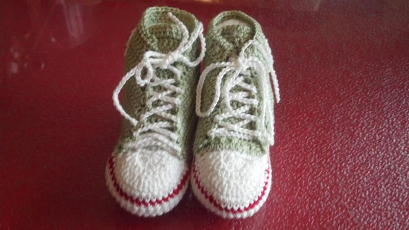Thread Converse Booties Free Pattern Other Thread Crochet