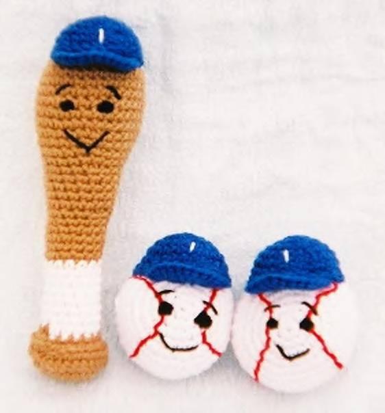 Baseball Buddies 3images Free Original Patterns Crochetville