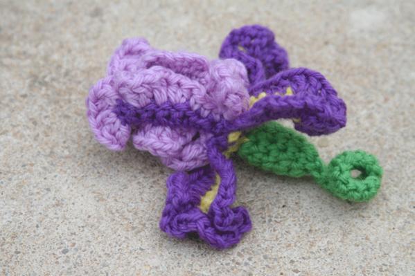 Free Crocheted Iris Pattern Free Pattern Links Crochetville