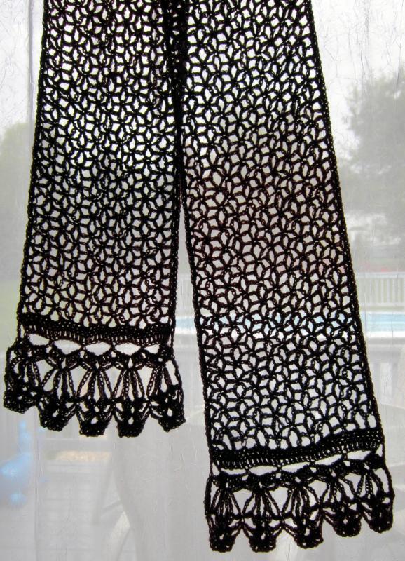Richelieu Scarf - Free Pattern Links - Crochetville