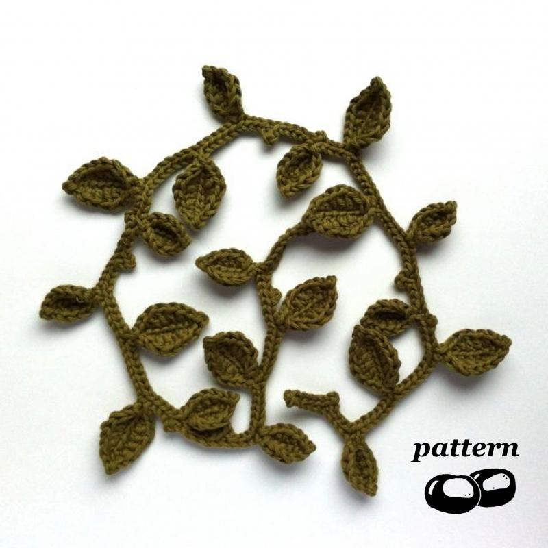 Leaf Garland - Free Pattern Links - Crochetville