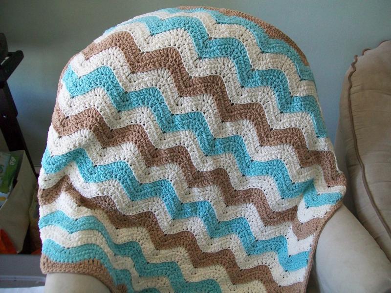 Ocean Waves Baby Blanket Afghans Crochetville