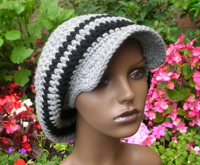 Visor Slouchrasta Tam Pattern Patterns For Sale Links Crochetville