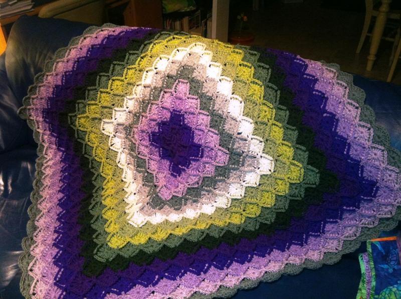 Bavarian Crochet Afghan Afghans Crochetville